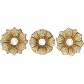 Propac Images 3 pc. Flower Mirror Set