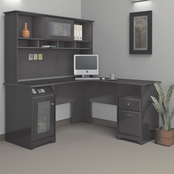 Bush Cabot L-Shaped Desk