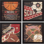 Propac Images Sports I, II, III, IV Wall Art