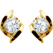 Sirena 14K Gold 1/2 CTW Diamond Stud Earrings