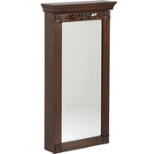 SEI Roma Wall-Mount Jewelry Armoire