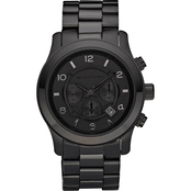 Michael Kors Men's Blacked Out Runway Chronograph 45mm MK8157