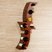 SEI Calabria Wall Mount Wine Rack