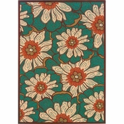 Oriental Weavers Montego Lily Pads Area Rug