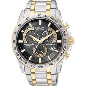Citizen Men's Eco Drive Perpetual Chronograph AT Watch AT4004-52E