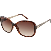 Guess Sunglasses with Animal Print Temples