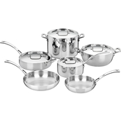 Cuisinart French Classic 10 pc. Stainless Steel Cookware Set