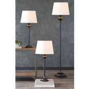 Simply Perfect 3 pc. Floor and Table Lamp Set