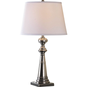 Simply Perfect Decorative Column Table Lamp with Shade