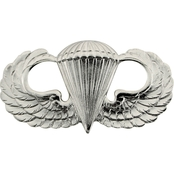 Army Badge, Regular Mirror Finish, Parachutist
