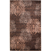 Linon Milan Collection Area Rug