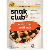 SnakClub Energizer Trail Mix Family Size, 16 oz.