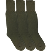 Jefferies Men's Combat Boot Socks 3 Pk.