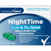 Exchange Select NightTime Cold & Flu Liquid Caps 24 ct.