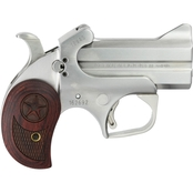 Bond Arms Texas Defender 22 WMR 3 in. Barrel 2 Rds Pistol Stainless Steel