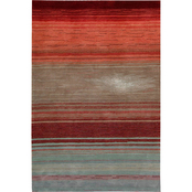 Nourison Winter Storm Rug, Flame