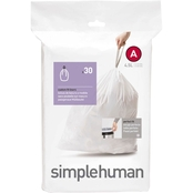 simplehuman Code A Custom Fit Can Liners, 30 Pk.