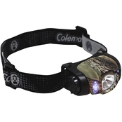 Coleman Multi-Color LED Headlamp Realtree AP Camo