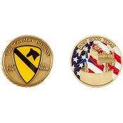 Challenge Coin 1st Cavalry Division Fort Hood Coin