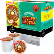 Coffee People Donut Shop Coconut Mocha Medium Roast Keurig K-Cup 18 pk.