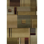 Oriental Weavers Generations Area Rug Beige Red