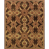 Oriental Weavers Huntley Area Rug Brown Rust