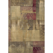 Oriental Weavers Generations Area Rug, Ivory, Red