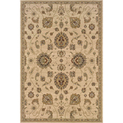 Oriental Weavers Ariana 5 ft. 3 in. x 7 ft. 9 in. Area Rug Ivory