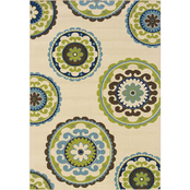 Oriental Weavers Caspian Area Rug, Tan, Green