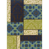 Oriental Weavers Caspian Area Rug, Blue, Brown