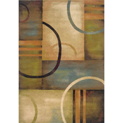 Oriental Weavers Emerson Area Rug, Tan, Orange