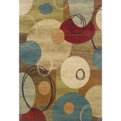 Oriental Weavers Emerson Area Rug, Red, Blue