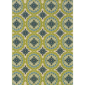 Oriental Weavers Caspian Area Rug, Green