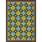 Oriental Weavers Caspian Area Rug Blue Green