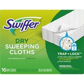 Swiffer Sweeper Unscented Dry Sweeping Pad Refills 16 pk.