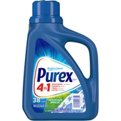 Purex Liquid Laundry Detergent Dirt Lift Action Mountain Breeze