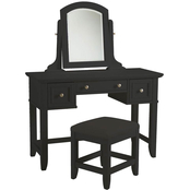 Home Styles Bedford Vanity Table and Bench 2 pc. Set