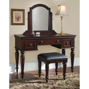 Home Styles Lafayette Vanity Table and Bench 2 pc. Set
