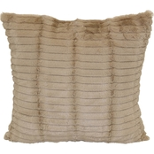 Brentwood Originals Cut Faux Fur Toss Pillow