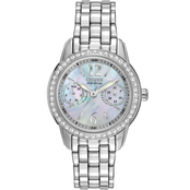 Citizen Women's Eco Drive Silhouette Crystal Watch FD1030-56Y