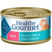 Blue Buffalo Healthy Gourmet Ocean Fish and Tuna Adult Cat Pate 3 oz.