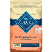 Blue Buffalo Chicken and Brown Rice Large Breed Puppy Food, 30 lb.