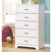 Ashley Lulu 5 Drawer Chest