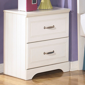 Ashley Lulu 2 Drawer Nightstand