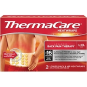 ThermaCare Lower Back and Hip Heat Wraps 2 Pk.