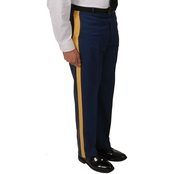 Army Men's Traditional Officer Trousers with Gold Braid (ASU)