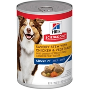 Science Diet Savory Stew with Chicken & Vegetables Mature Adult Canned Dog Food