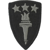 Army Patch War College Foliage Green Hook & Loop