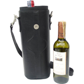 Piel Luggage Single Deluxe Wine Carrier