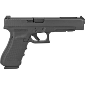 Glock 34 Gen 4 9MM 5.31 in. Barrel 17 Rds 3-Mags Pistol Black